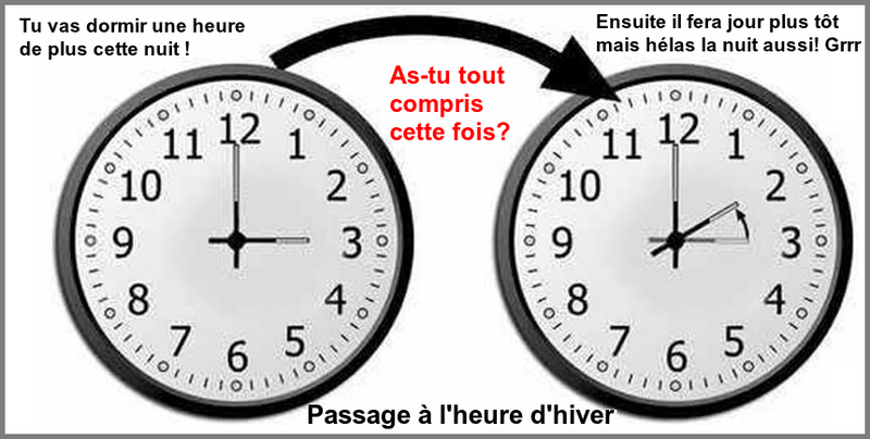 Changement d 39 heure - Changement heure d hiver 2017 ...